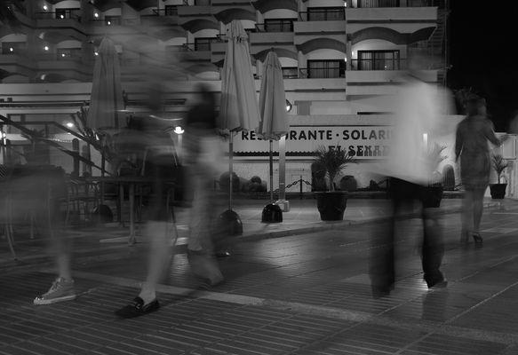 Evening Nr 5. In rush