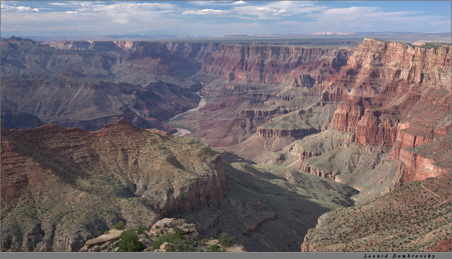Evening view of the Canyon and Colorado River