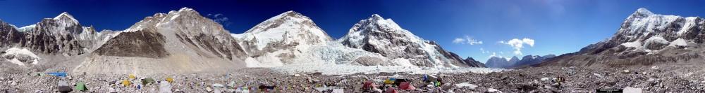Everest Basislager 360 Panorama