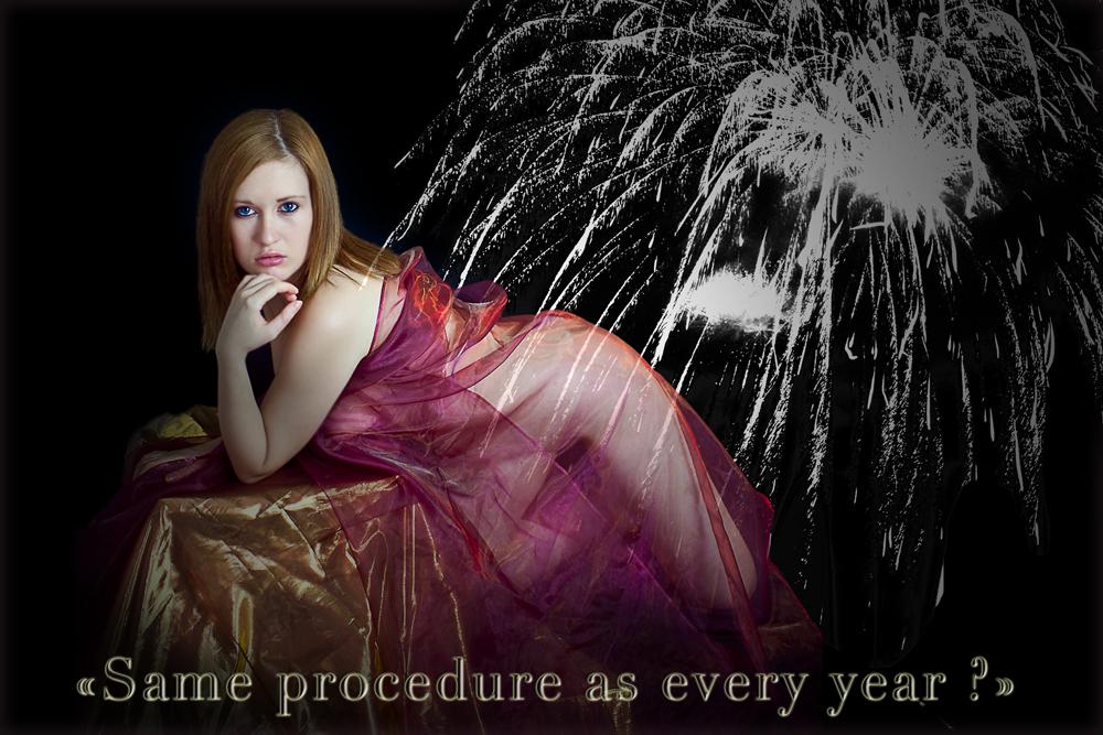 Every year the same procedure :-(