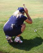Evian Masters 2008: Schwierige Aufgabe am Loch 5...