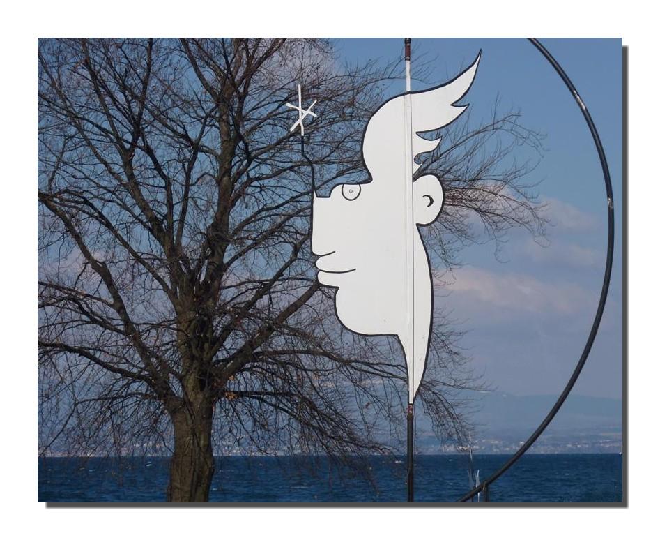 Evian rend hommage à Jean cocteau