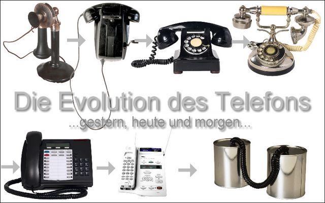 Evolution des Telefons...