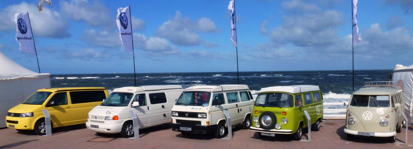 Evolution des VW-Busses