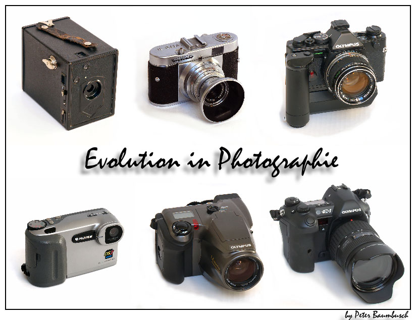 Evolution in Photographie