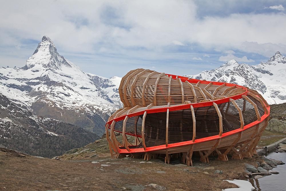 Evolver: Kunst an Matterhorn