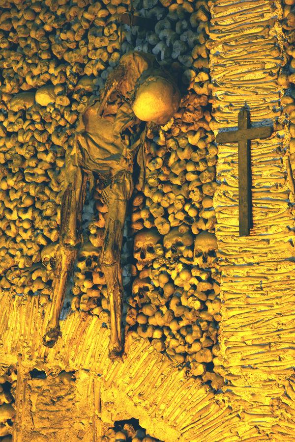 Evora chapelle des têtes