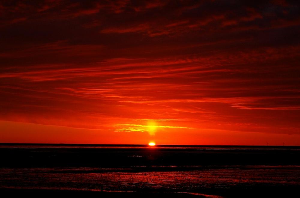 Ewiges  atmen der Gezeiten.. ...Weltnaturerbe Wattenmeer vor Norddeich