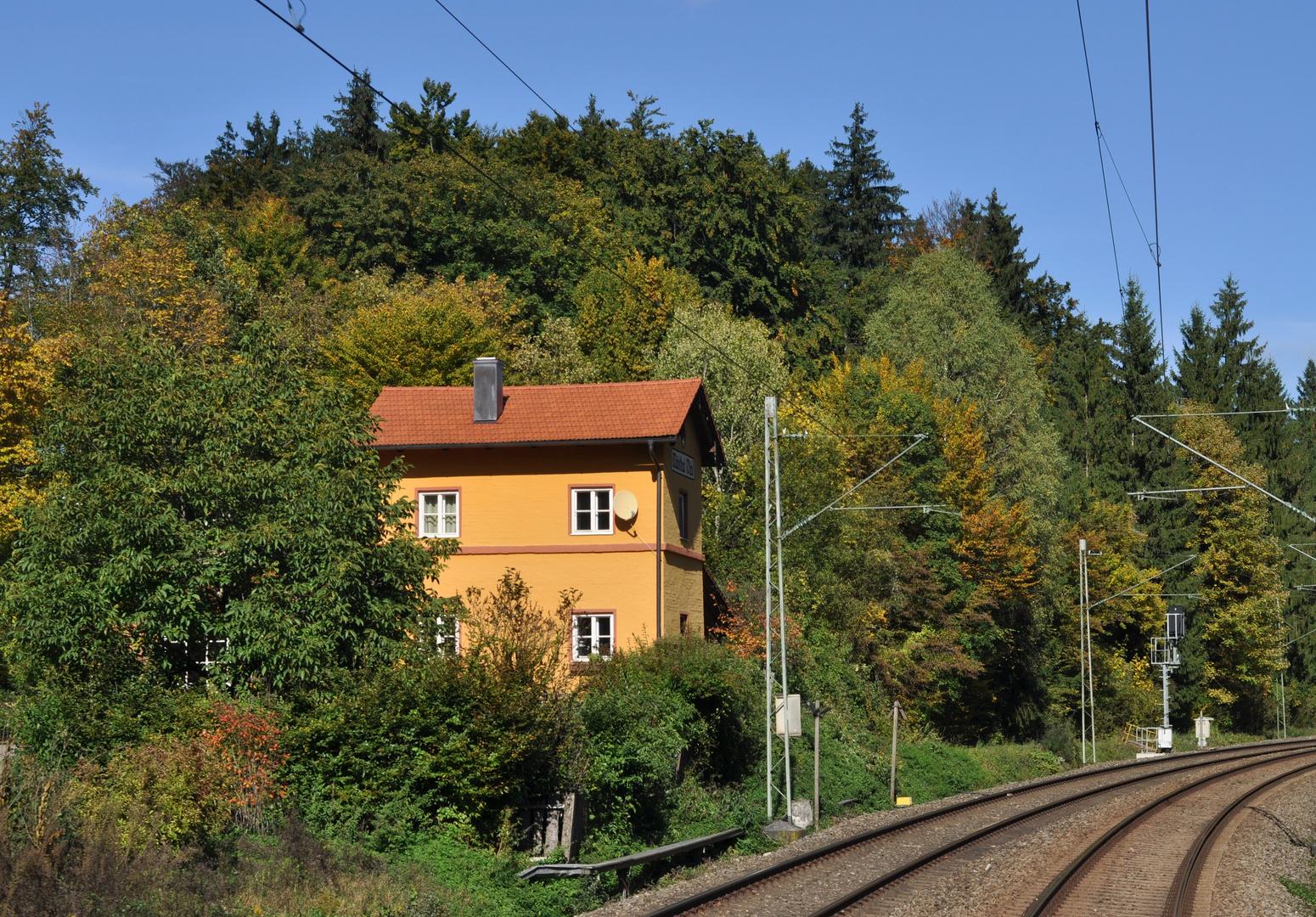 Ex Bahnwärterhaus ...
