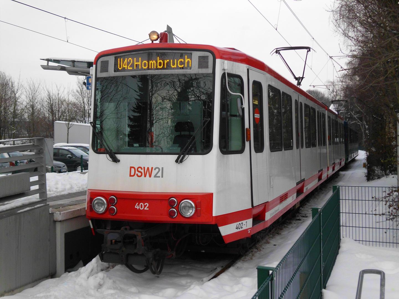Ex-Bonner Stadtbahnwagen B in Dortmund