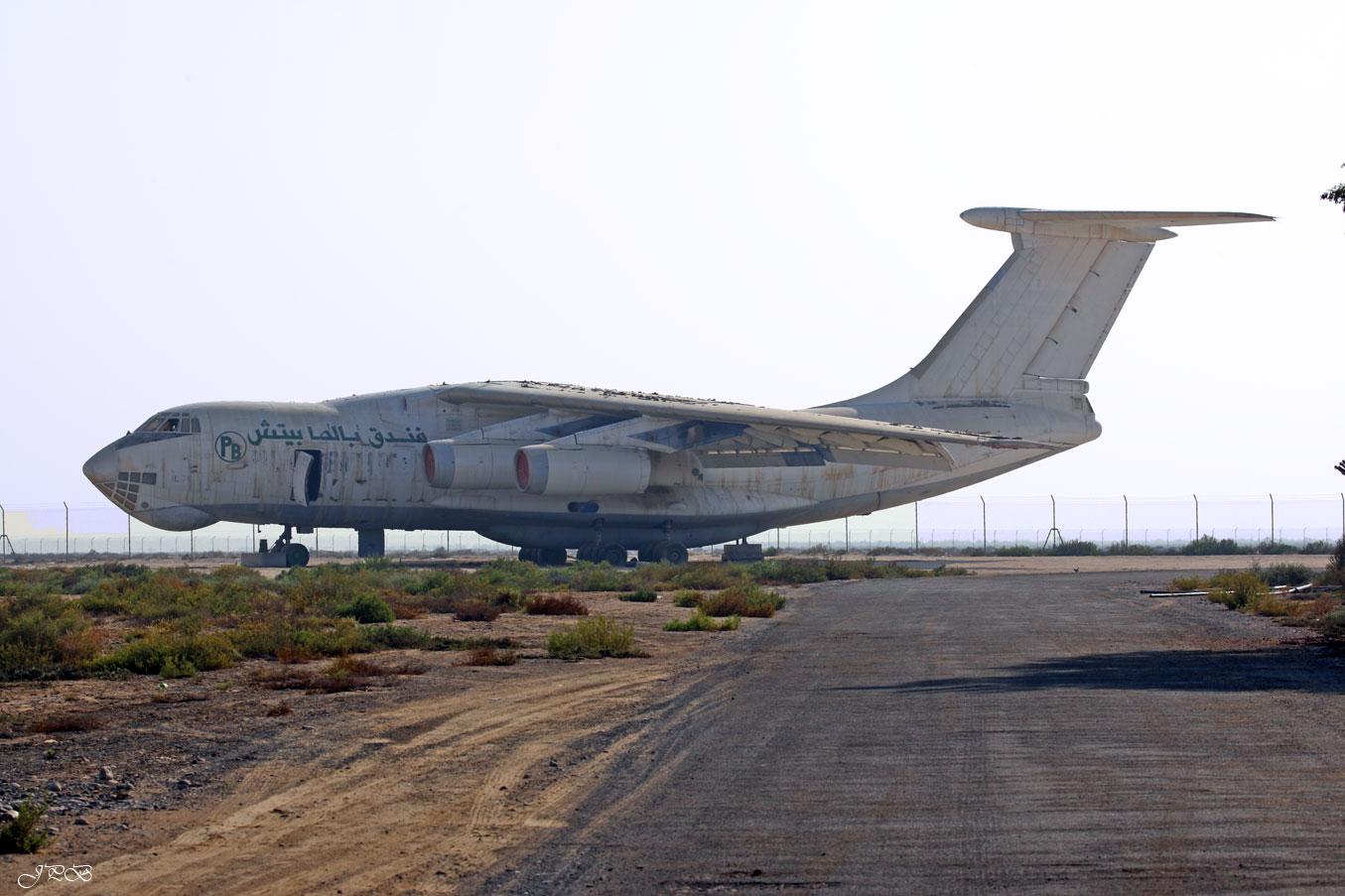 Ex Centrafican Airlines Iljushin IL 76 TD