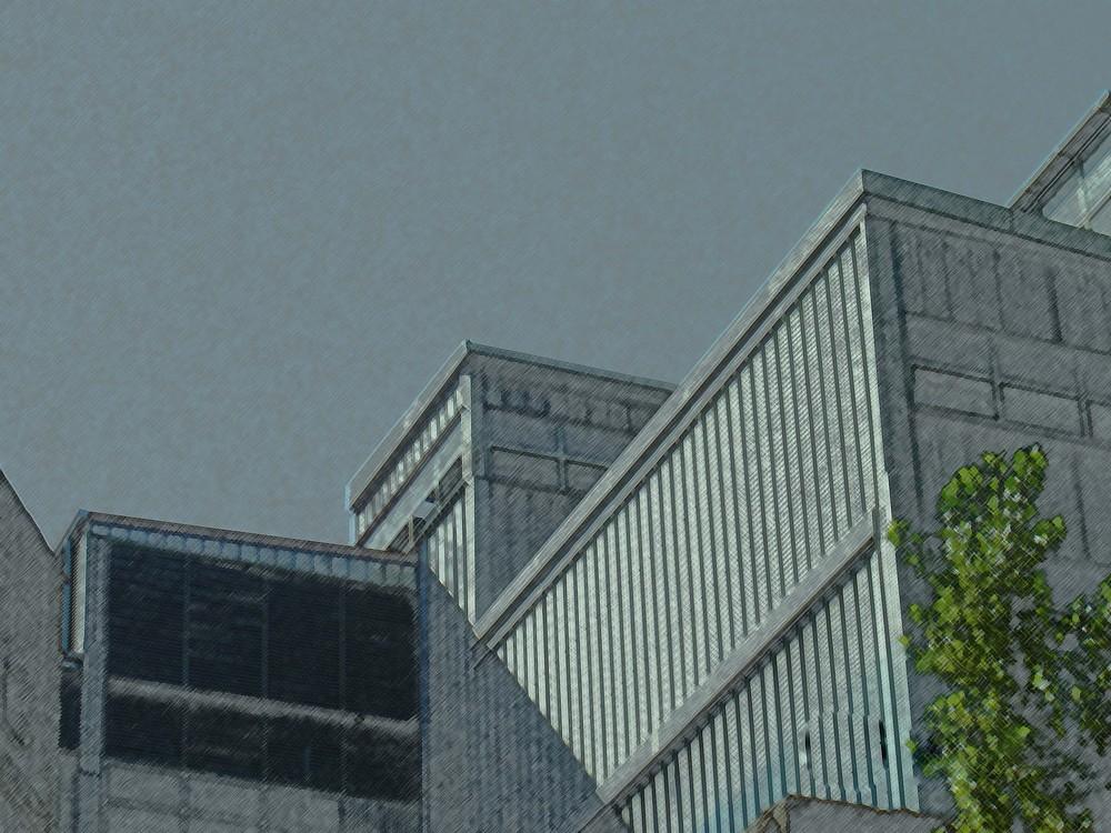 ex fabbrica in grigio