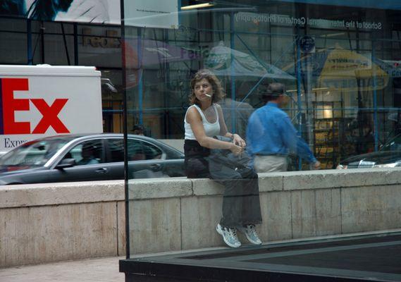 EX? - Raucherin in New York City