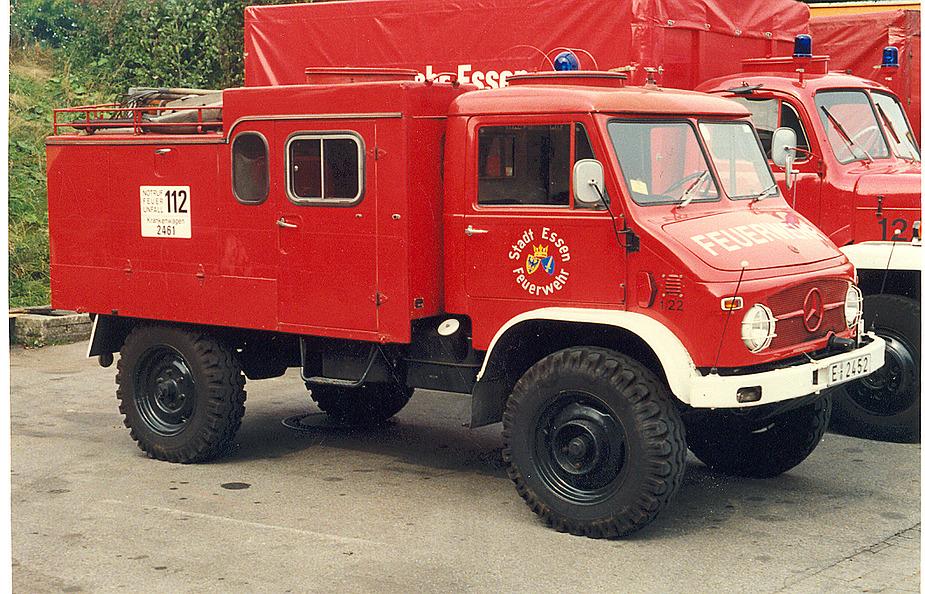 Ex TLF 8 der Feuerwehr Essen