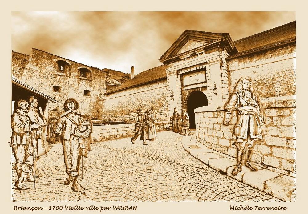 Exercice 53 - Briançon - Fortification Vauban