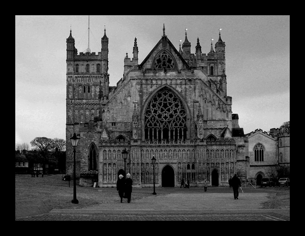 Exeter Cathedral :-)))