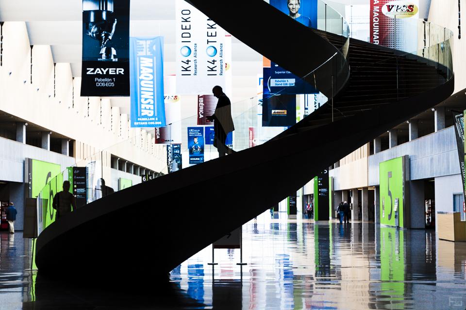 Exhibition spiral
