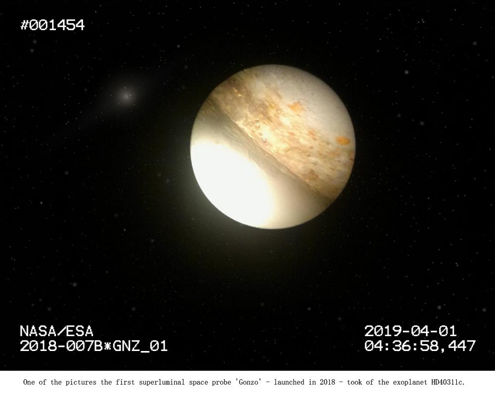 Exoplanet HD40311c