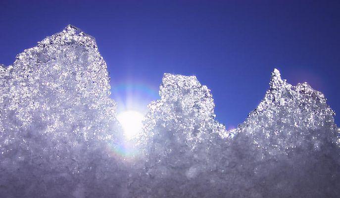 Experiment: Eis und Heiss