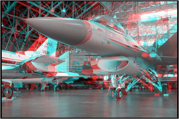 "Experimentalflugzeug ""AFTI"" F-16"
