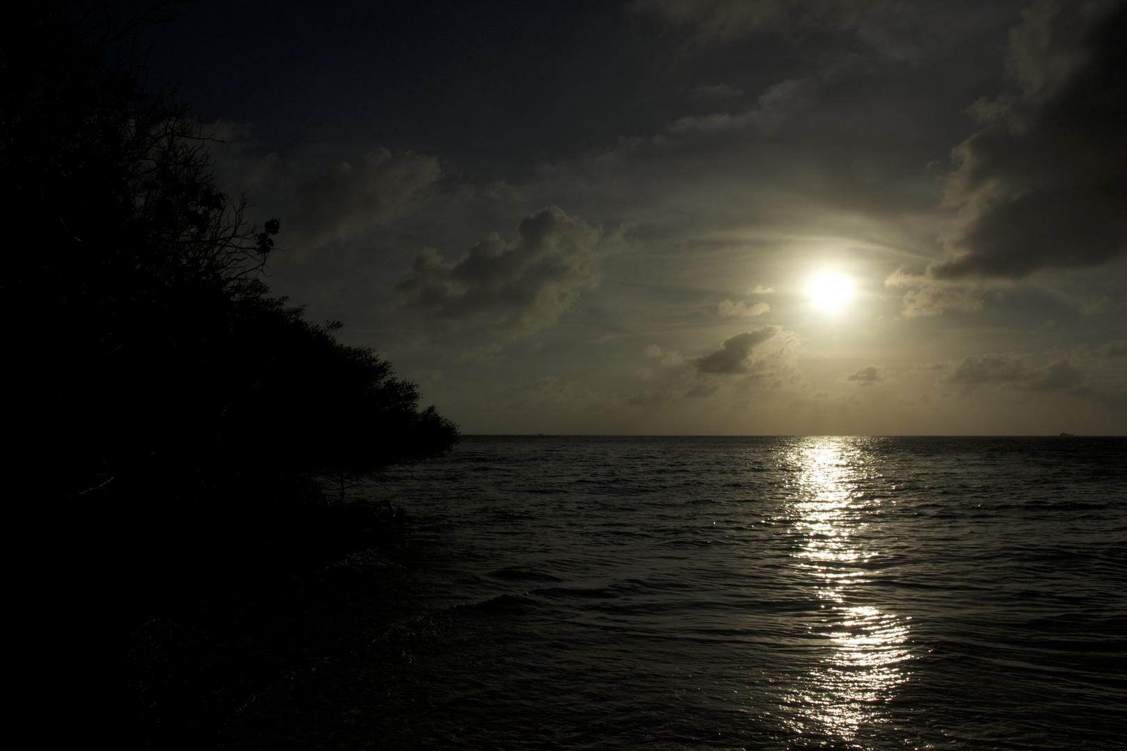Experimente beim Sonnenuntergang...ein Versuch