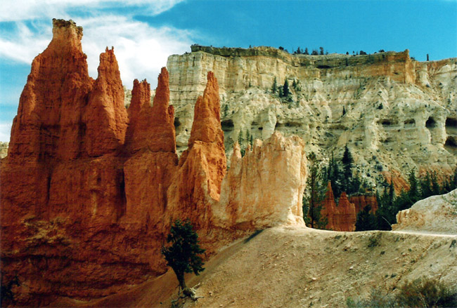 Explore the Bryce Canyon