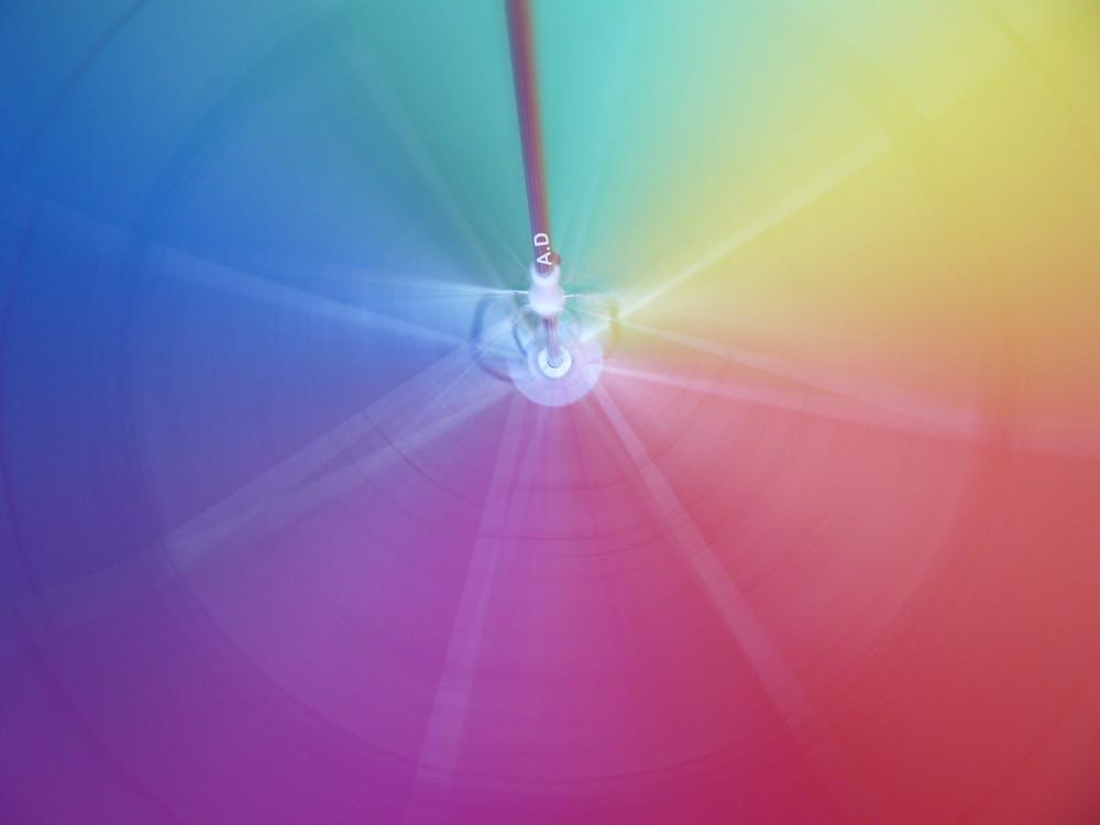 Explosion de couleurs.