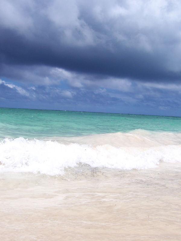 Explosion de couleurs sur le rivage de Bavaro