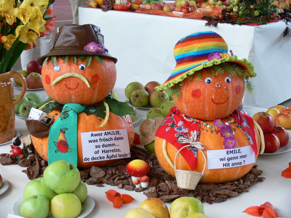 expo fruits et légumes à Herrlisheim