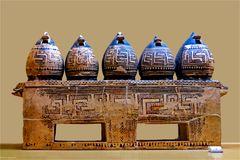 Exponate aus dem Museum der Agora in Athen