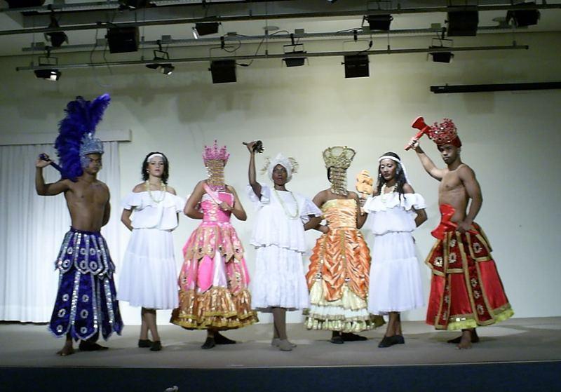 Expressao Brasil Show (cia Gafieira Brasil) ORIXAS