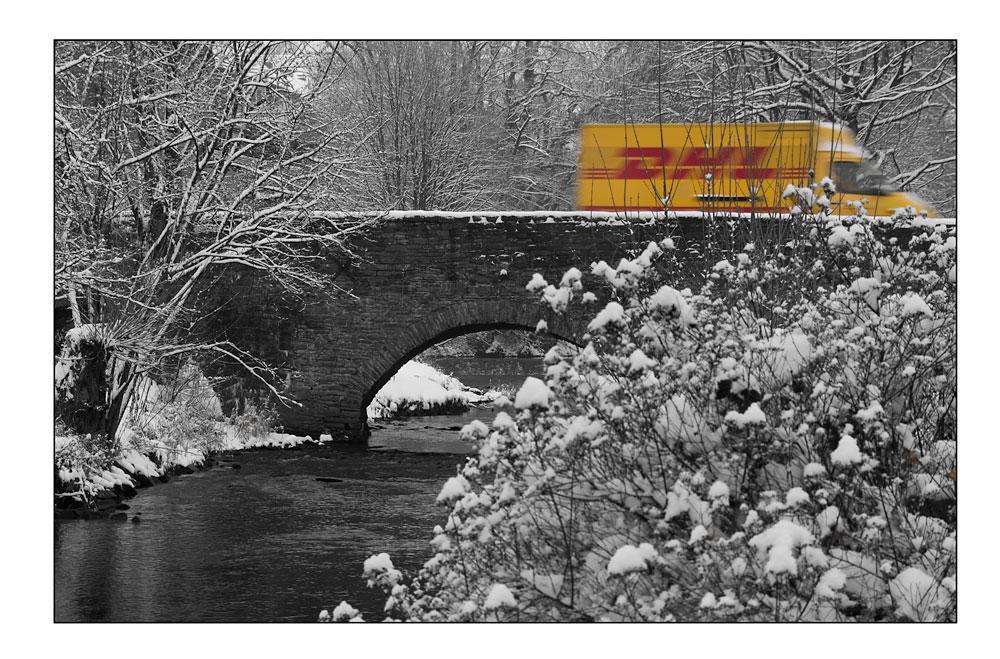 Expresspost im Winter