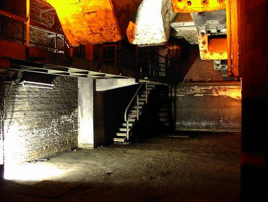 Extraschicht 09 - Kohlebunker der Schachthalle der Zeche Ewald