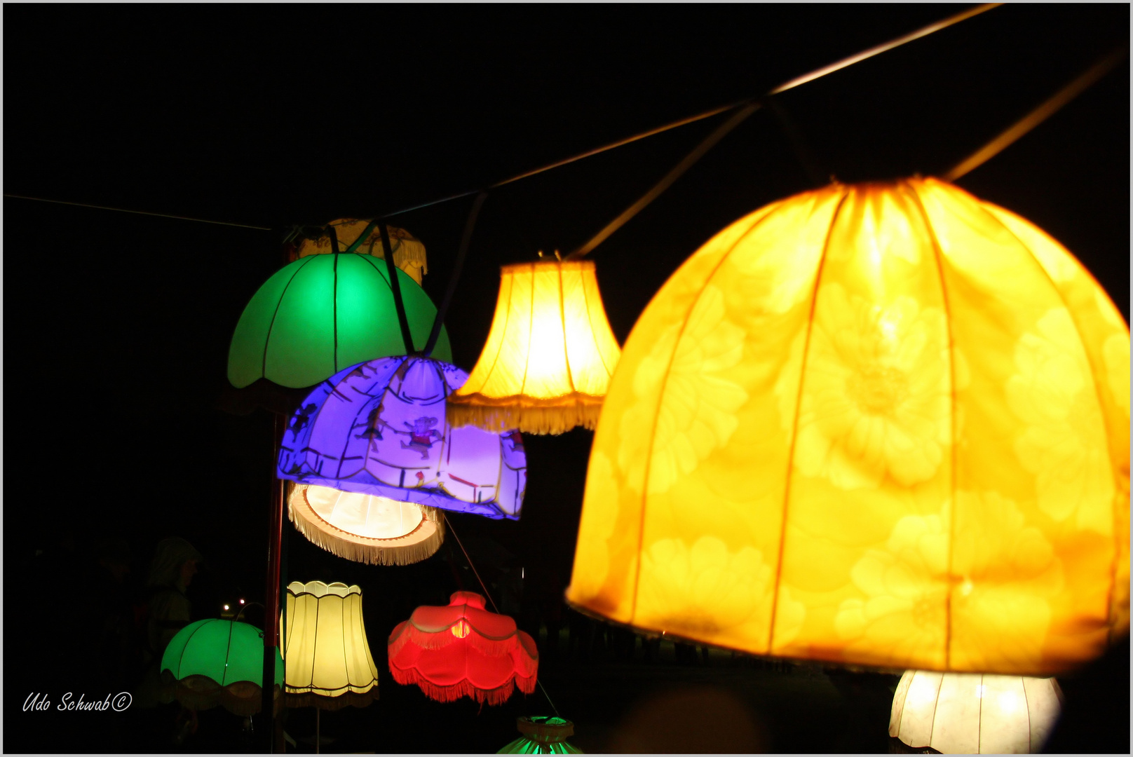 Extraschicht-Lampen