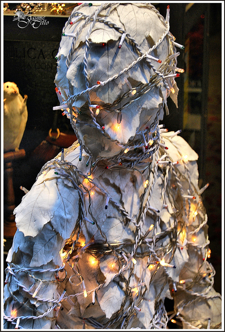 Extraterrestre en Navidad