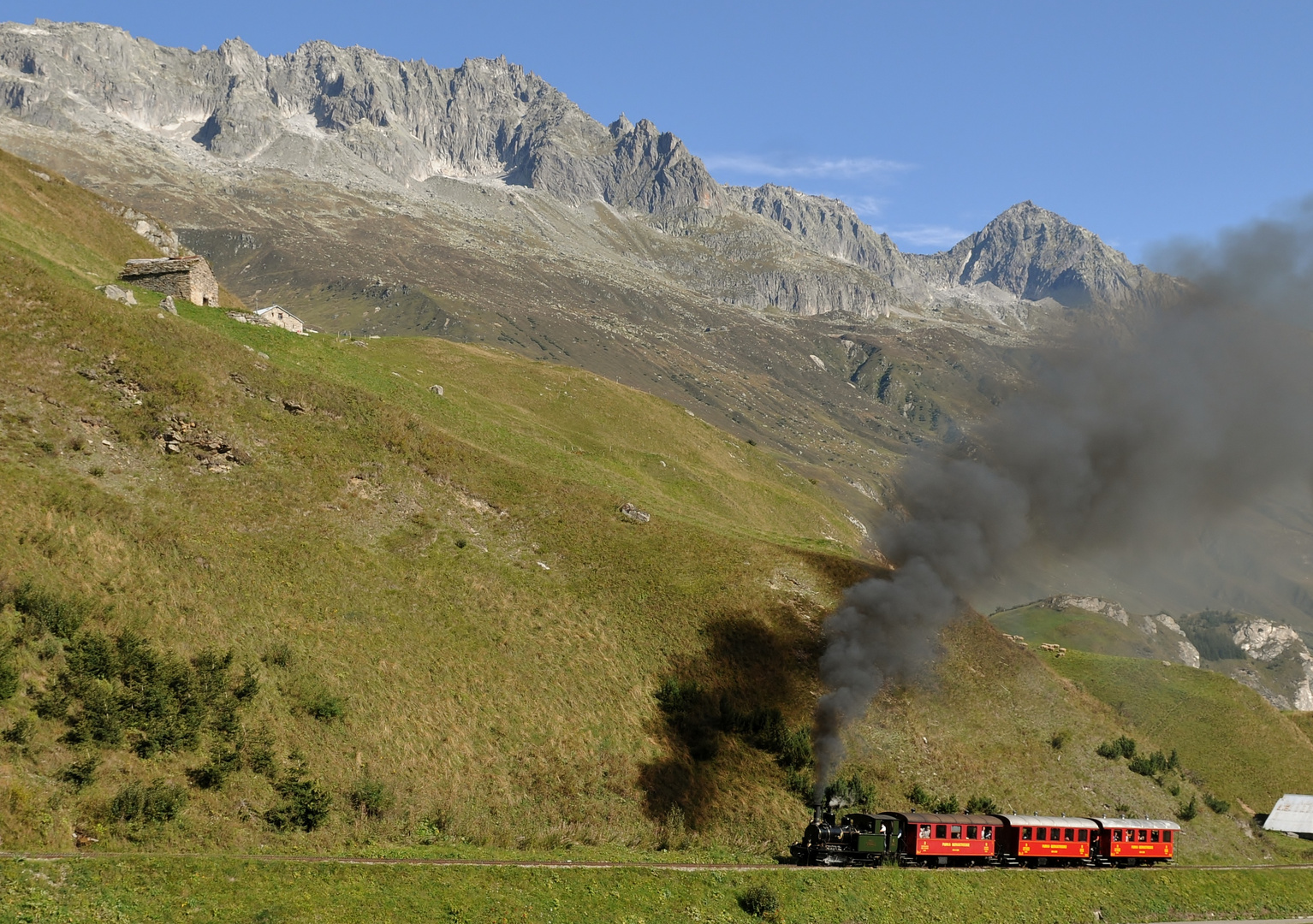 Extrazug  with Nr.6 Weisshorn
