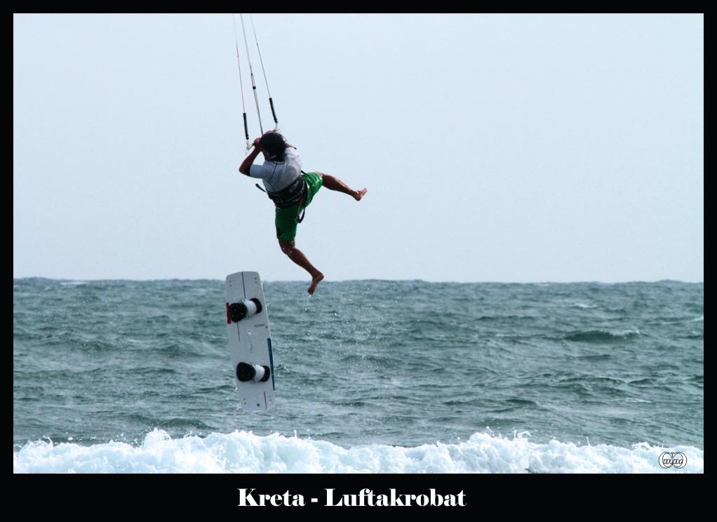 Extremer Wassersport oder ist es ein Windsport?
