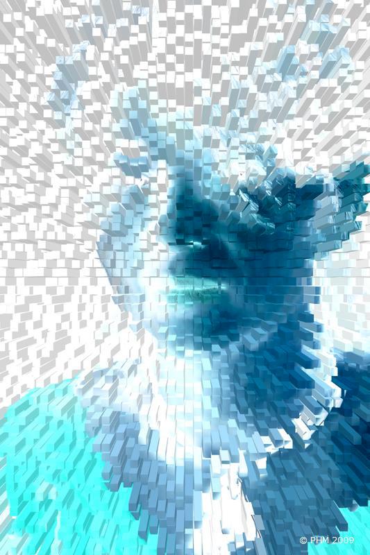 Extrusion bleue