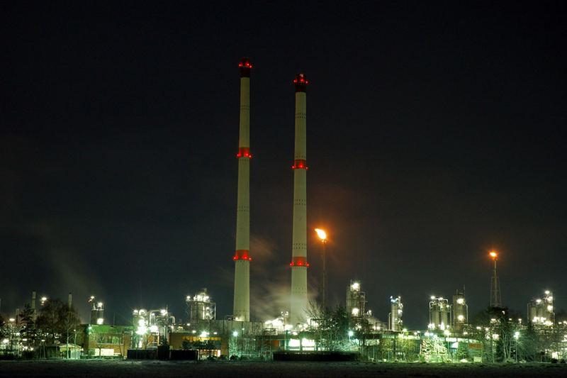 Exxon Erdgasaufbereitungsanlage Großenkneten