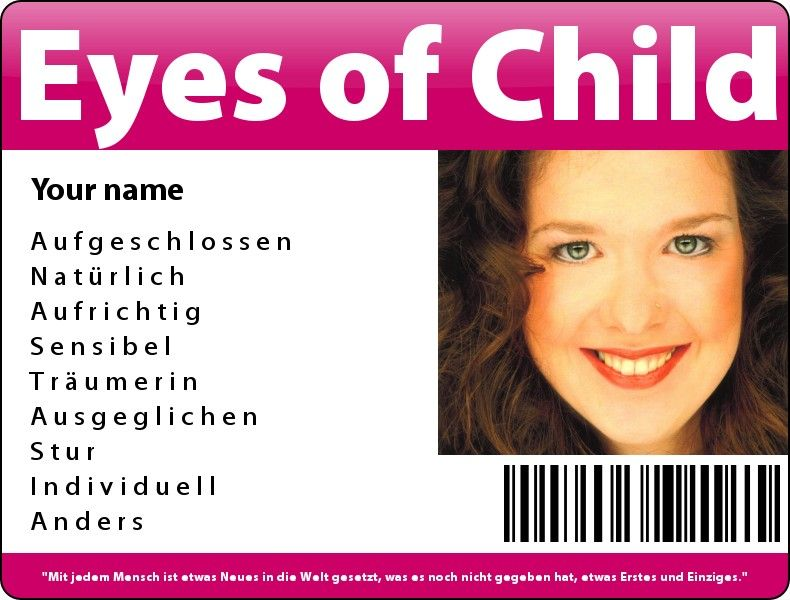 Eyes of Child
