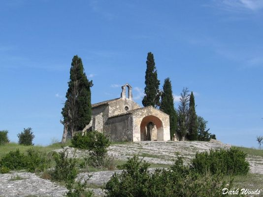 Eygalières, la Chapelle Saint Sixte