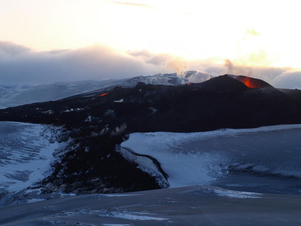 Eyjafjalla Vulkan Island 2010