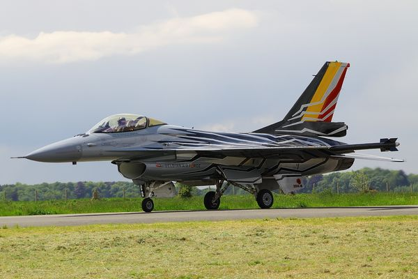 F-16 Belgian Solodisplay - new livery #1