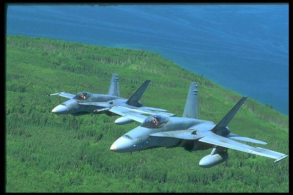 F-18 close-up