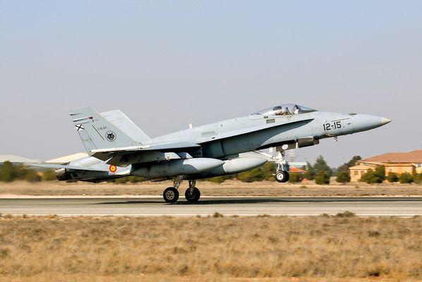 F-18 del Ala 12 - Ejército del Aire Español
