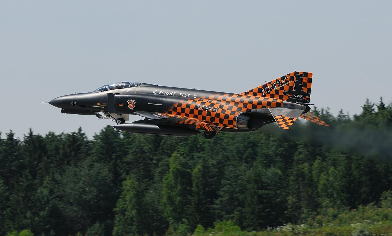 F-4F Phantom der WTD 61 in Manching