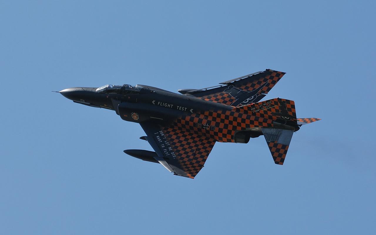 F-4F Phantom der WTD 61 in Manching am 16.07.2013