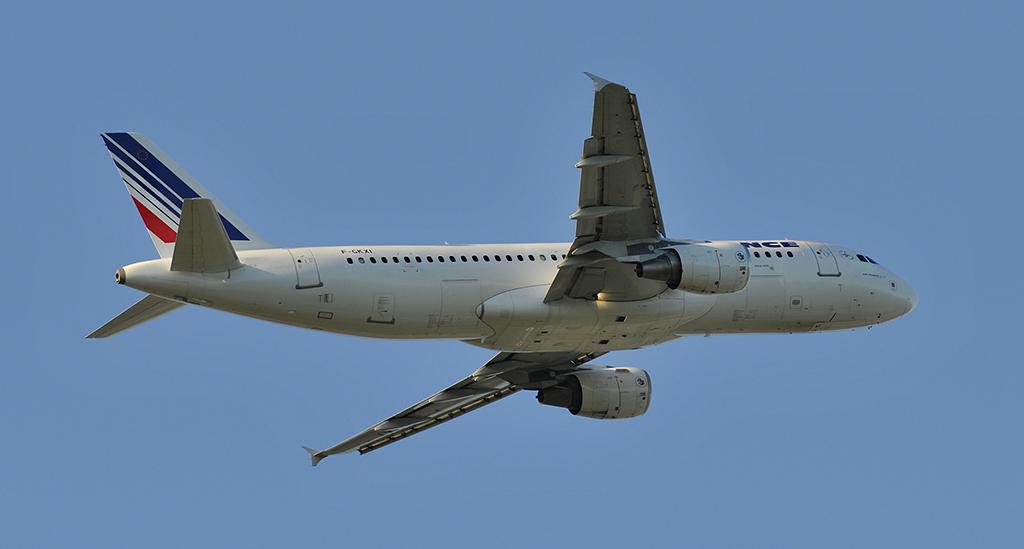 F-GKXI - Air France - Airbus A320