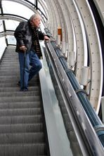 "F-Paris 037: ""Centre Pompidou"" - Rolltreppe"