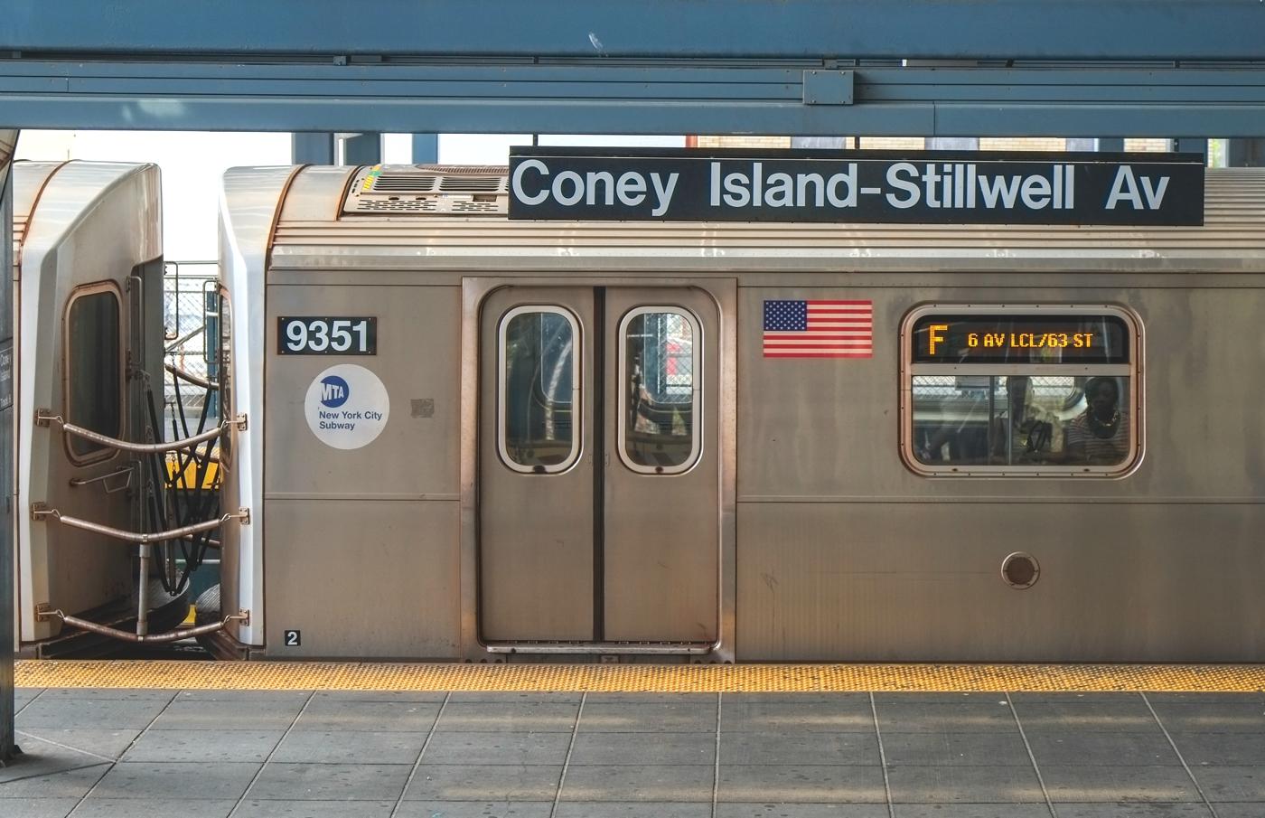 F Train Stillwell Ave
